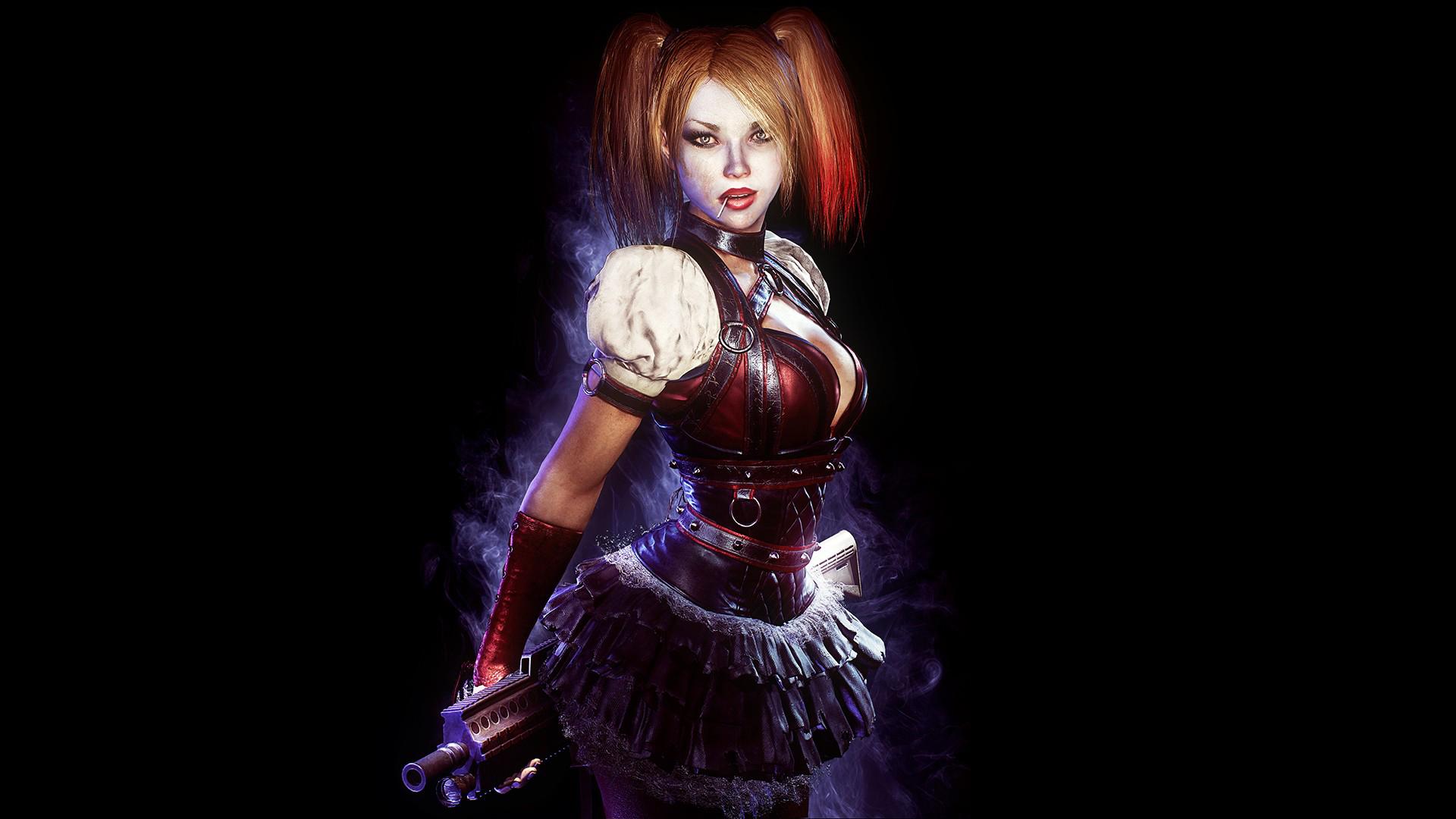 Harley-Arkham-Knight