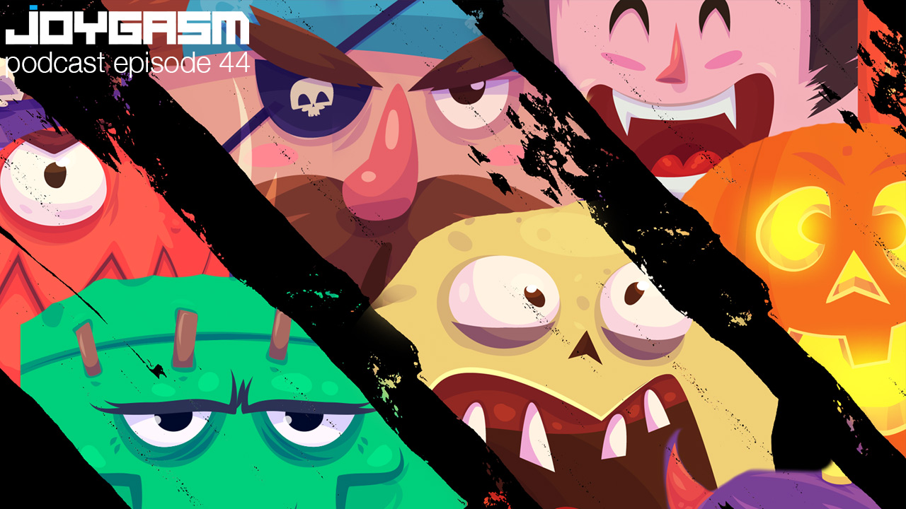 Joygasm Podcast Ep. 44: The Scariest Games We've Ever Played & More