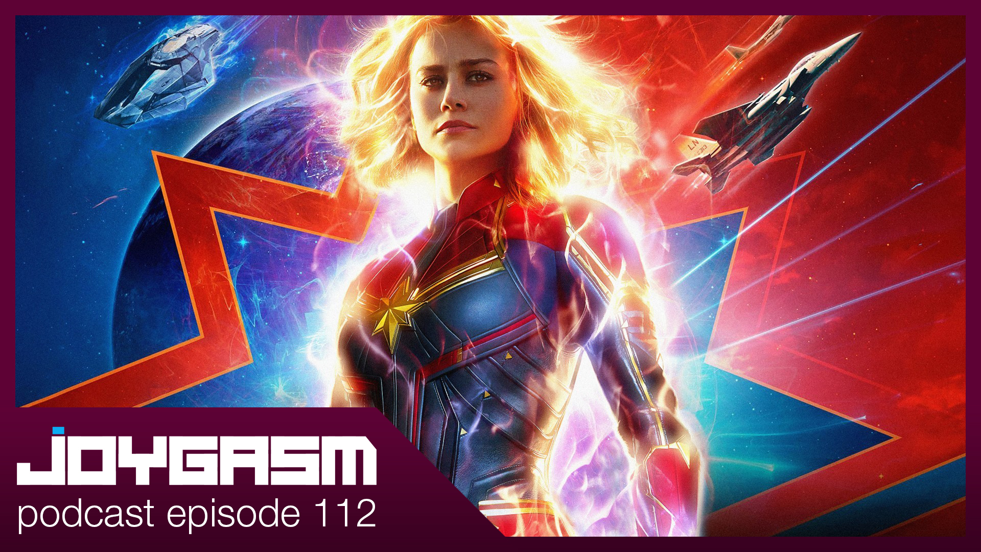 Ep. 112: Captain Marvel Movie Review