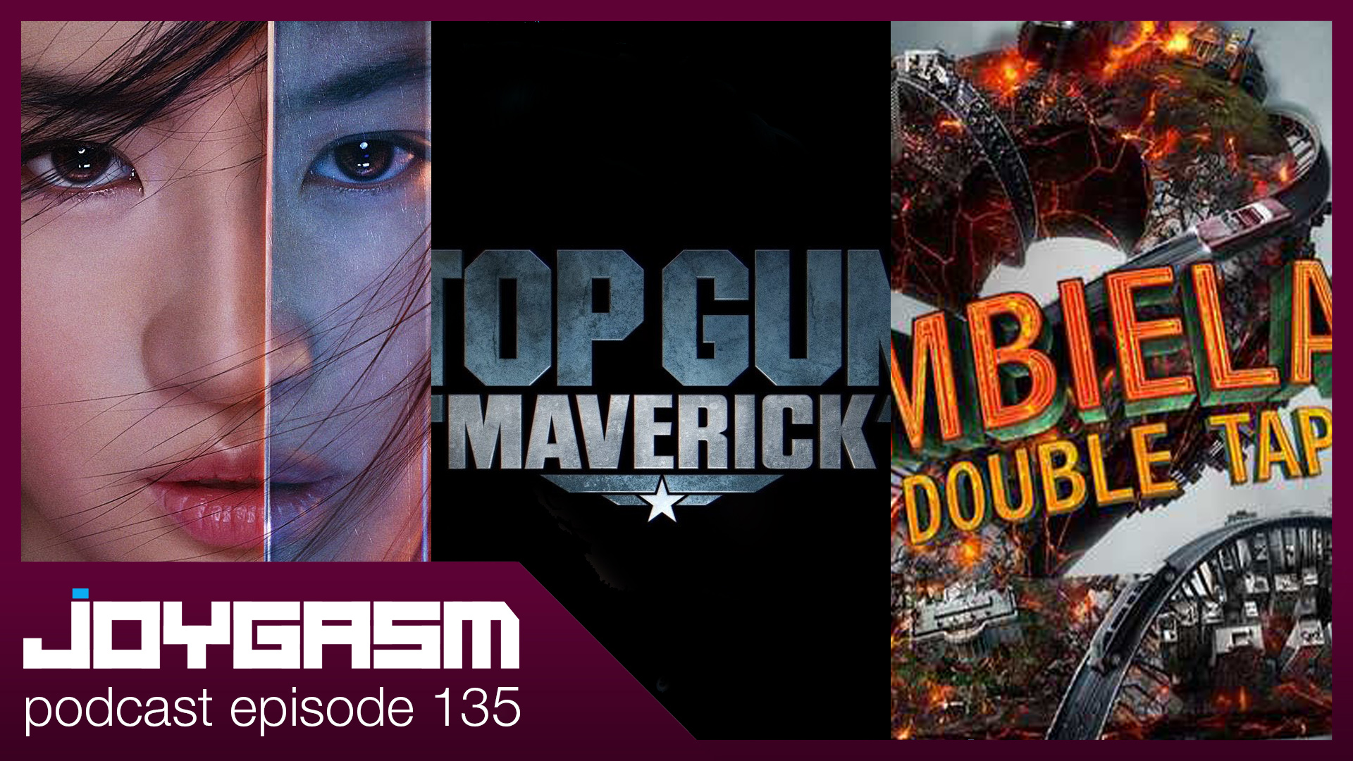 Ep. 135: Mulan, The Kingsman, It 2, Top Gun 2, A Beautiful Day In The Neighborhood, & Zombieland Double Tap Movie Trailer Reactions