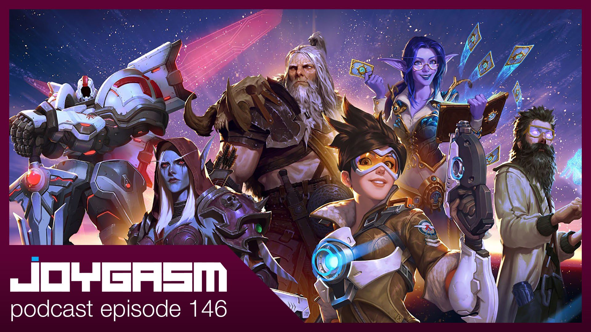 Ep. 146: Blizzcon 2019, Overwatch 2, Diablo 4, World Of Warcraft Shadowkeep, & More