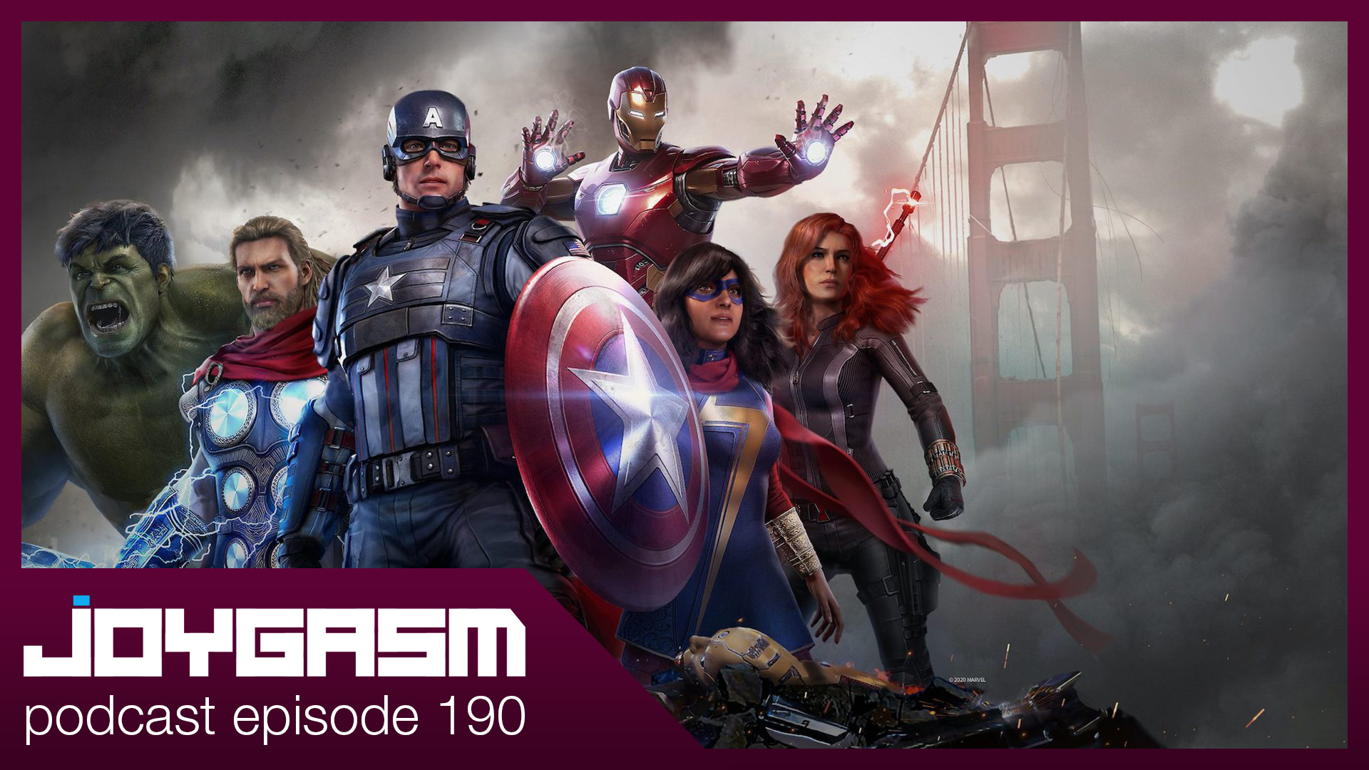 Ep. 190: Marvel's Avengers Gameplay Impressions & More